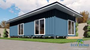 100 Designs For Container Homes SCH2 2 X 40ft Single Bedroom Home