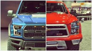 √ Ford Vs Chevy Trucks, 2017 Ford F-150 Versus 2017 Chevrolet ...