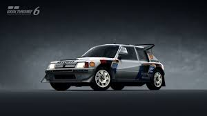 Peugeot 205 Turbo 16 Evolution 2 86 Gran Turismo 6