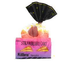 Galaxy Kiibru Rare Squishy Jumbo Strawberry Shortcake Slice Slow Rising Super 15CM Original Package Gift
