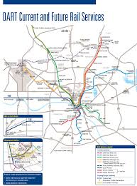 DART DART Current and Future Services Map