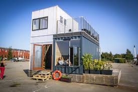 100 Cabins Made From Shipping Containers A Student Village Of Container Homes In Copenhagen By CPH