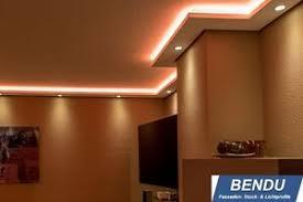 details zu led stuckleisten indirekte beleuchtung wohnzimmer wand decke lichtvouten profile