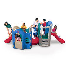 Step2 Playhouses Slides U0026 Climbers by Playground Gym 8 In 1 Adjustable Playground