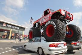 BurgerKingZA Brought Out A Monster Truck To Stun Guests At The East ... Bigfoot Retro Truck Pinterest And Monster Trucks Image Img 0620jpg Trucks Wiki Fandom Powered By Wikia Legendary Monster Jeep Built Yakima Native Gets A Second Life Hummer Truck Amazing Photo Gallery Some Information Insane Making A Burnout On Top Of An Old Sedan Jam World Finals Xvii Competitors Announced Miami Every Day Photo Hit The Dirt Rc Truck Stop Burgerkingza Brought Out To Stun Guests At The East Pin Daniel G On 5 Worlds Tallest Pickup Home Of