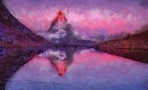 Famous Purple Paintings