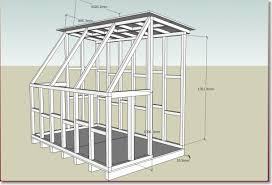 6 X 8 Gambrel Shed Plans by Sheds Plans Online Guide Shed Blueprints 8x16