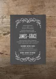 Printable Wedding Invitation And RSVP Card Modern Romance Design Foliage Vintage Rustic Bohemian DIY Print