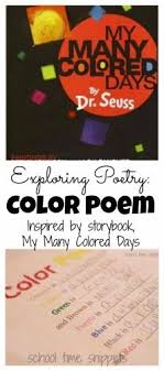 Color Poems By Grade 1 Students