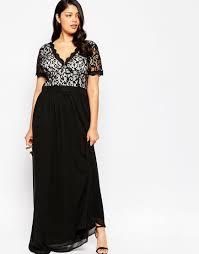 black maxi dresses size