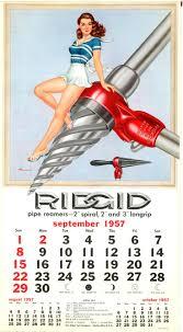 Ridgid Faucet And Sink Installer Tool Instructions by Ridgid Tools Calendar 1957 Google Search Ridgid Plumbing Tools
