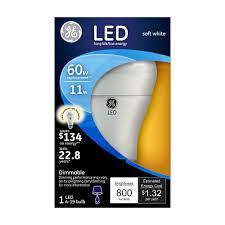 upc 043168338462 ge lightbulbs 60w equivalent soft white 2700k