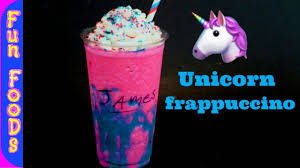 How To Make Homemade Unicorn Frappuccino