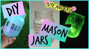 DIY Mason Jars Room Decor More Cute Easy Cheap