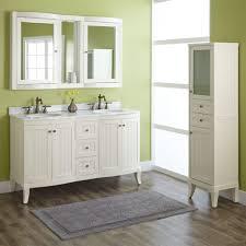 Pedestal Sink Storage Cabinet by Bathroom Vanities Marvelous Sparkling Bathroom With Dark Blue