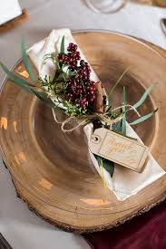 Rustic Winter Wedding Decor Inspiration