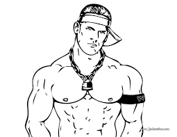 wrestlers coloring wwe raw colouring pages