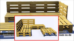 palette canapé comment construire un canapé de palette pour le jardin