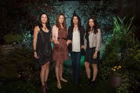 L To R Madchen Amick Rachel Boston Julia Ormond And Jenna Dewan Tatum Star In The All New Lifetime Drama Witches Of East End Premiering Sunday