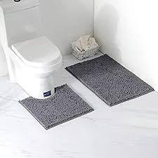 arkmiido badezimmermatte rutschfest badematte badteppich badezimmerteppich waschbar duschmatten weiche maschinenwaschbar fußmatte teppich für