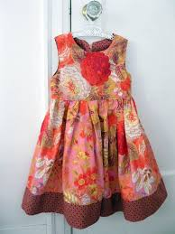 Childrens Vintage Clothing Dress Size 4 Roses Shabby By Enfantjoli 2610