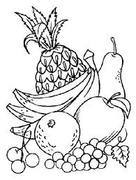 Vegdable Coloring Sheets