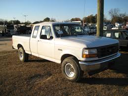 1996 FORD F150 EXTENDED CAB 4X4 PICKUP