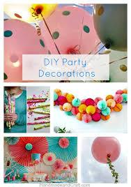 DIY Party Decorations 10 Inspiring Ideas