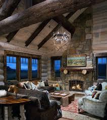 Log Home Interior Decorating Ideas Top 60 Best Log Cabin Interior Design Ideas Mountain