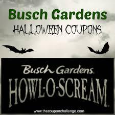 Busch Gardens Halloween 2017 Williamsburg by Gardens Halloween Coupons
