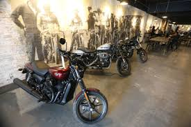 100 Harley Davidson Lounge Chair Opens Downtown Bikerthemed Caf The Star