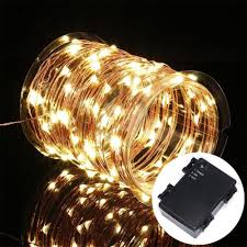 Christmas Tree Lights Amazon by Amazon Com Battery Operated String Lights Kohree 60 Led Light