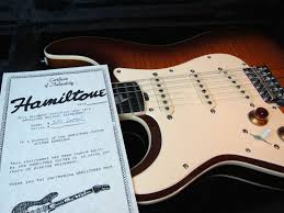 Hamiltone Stratocaster Set Neck Model Limited Edition Stevie Ray