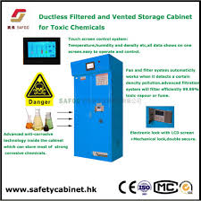 Fireproof Storage Cabinet For Chemicals by Ductless Filtered Storage Cabinet For Toxic Chemicals Wuxi Safoo