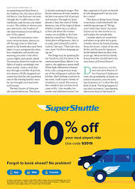 March 2019 By Southwest: The Magazine - Issuu Supershuttle Coupons Deals November 2019 Lxc Coupon Code For Alabama Adventure Park Super Shuttle Winter Sale Reserve Myrtle Beach Phoenix Coupons Juice It Up The Promo I Used Shuttle Added 5 To Every Office Depot 20 Off Email Dominos Deals Uk Delivery Codes 15 Starbucks December 2018 San Jose Airport Super Adidas Soccer Slides Test Bank Wizard Discount Justice Feb Coupon Plymouth Mn