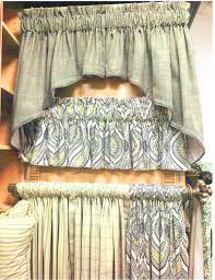 Lace Priscilla Curtains With Attached Valance by Curtains Lace Patterned Floral Striped Solid