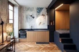 Genius Bedroom Layout Design by A Tiny Studio With A Genius Bedroom Solution Sleep Tight