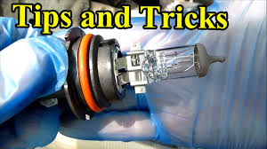 how to replace a headlight bulb tips and tricks