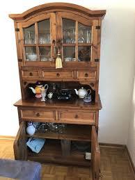 buffet esszimmerschrank massivholz bauernschrank vintage antik