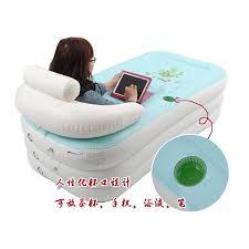 inflatable spa bathtub portable air bath tub home swimming