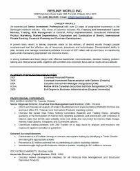 Commercial Banker Resume Personal Example