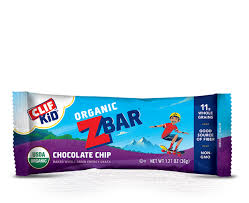 CLIF Kid ZbarR Organic Energy Snack Chocolate Chip