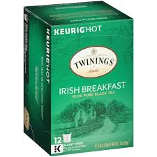 Twinings Irish Breakfast Tea Keurig K Cups 12 Count 126 Oz Pack Of 6