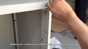 tcs instruction of how to assemble the 3 4 drawers filling cabinet