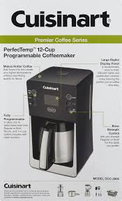 Cuisinart Coffee Maker Bed Bath Beyond by Cuisinart Perfectemp 12 Cup Thermal Programmable Coffeemaker