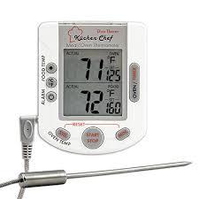 holzkohlegrills elektrogrill küchenchef grillthermometer
