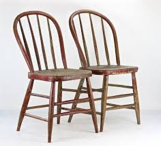 Farmhouse Chairs, Rustic Dining Chairs, Antique Spindle ...