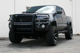 100 Big Black Trucks Learn About Step 4 Round Side Bars From ARIES