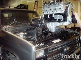 6.0L Engine Swap In A 1982 Chevy K5 Blazer Photo & Image Gallery