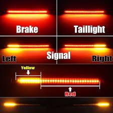 100 Semi Truck Led Lights Tailgate Strip Bar Trailer Brake Third